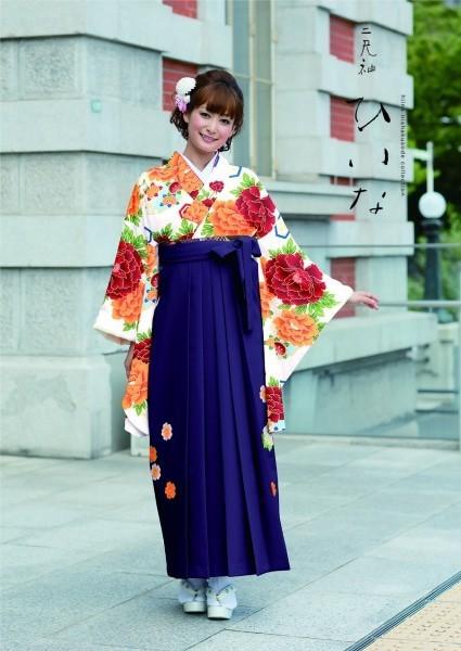 古典袴(No: 2584) / TAKAZEN 梅田店 - 卒業式と成人式の袴レンタル日本最大級の情報サイト (21570)