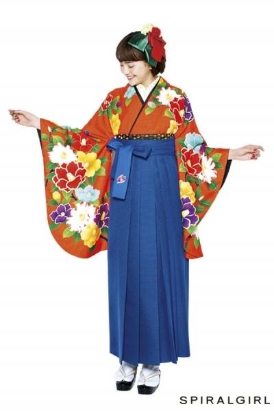 レトロ袴(No: 2571) / TAKAZEN 梅田店 - 卒業式と成人式の袴レンタル日本最大級の情報サイト (21701)