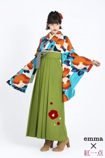 レトロ袴(No: 2562) / TAKAZEN 梅田店 - 卒業式と成人式の袴レンタル日本最大級の情報サイト (21835)
