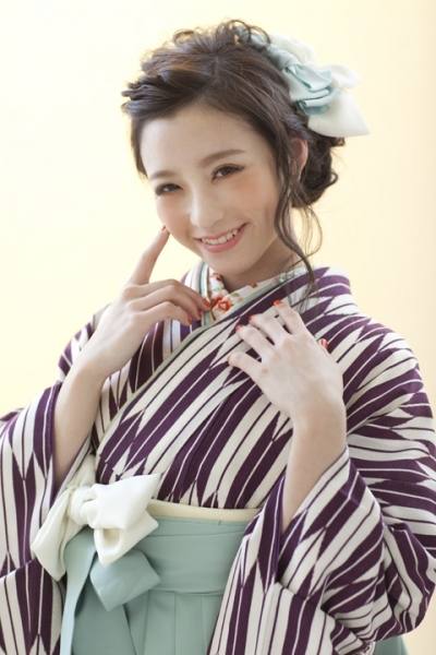 NATURAL GIRLY STYLE(No: 2114) / studio aim 札幌店 - 卒業式と成人式の袴レンタル日本最大級の情報サイト (22073)