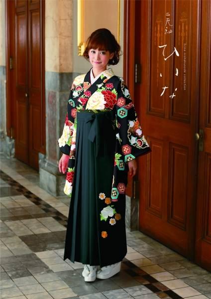 古典袴(No: 2589) / TAKAZEN 梅田店 - 卒業式と成人式の袴レンタル日本最大級の情報サイト (22559)