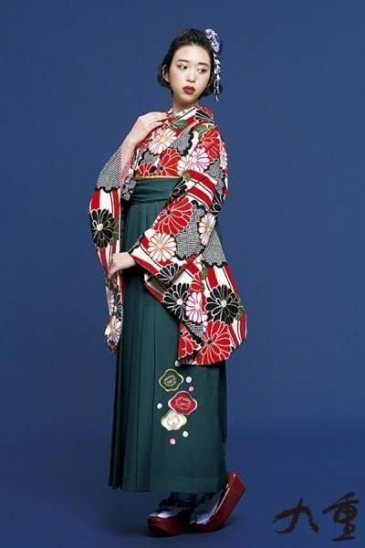 レトロ袴(No: 2575) / TAKAZEN 梅田店 - 卒業式と成人式の袴レンタル日本最大級の情報サイト (23237)