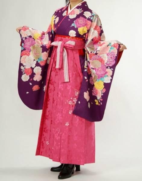 アゲハ風卒業袴(No: 1042) / 貸衣装Ami(アミイ) - 卒業式と成人式の袴レンタル日本最大級の情報サイト (23282)