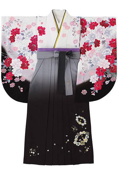 花とチェリーの袴