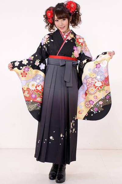 古典柄の袴