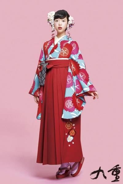 レトロ袴(No: 2576) / TAKAZEN 梅田店 - 卒業式と成人式の袴レンタル日本最大級の情報サイト (24307)