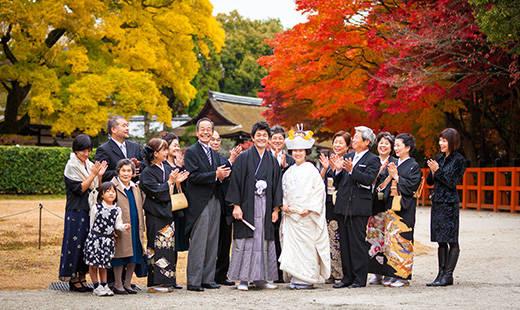 高台寺など神社仏閣での結婚式 京都和婚(結婚式・披露宴)なら料亭 京大和ウェディング (25571)