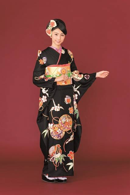 2017-2018 Furisode collection A-7 (No.18025) / 四季のきもの 丸見屋   My振袖 (26470)