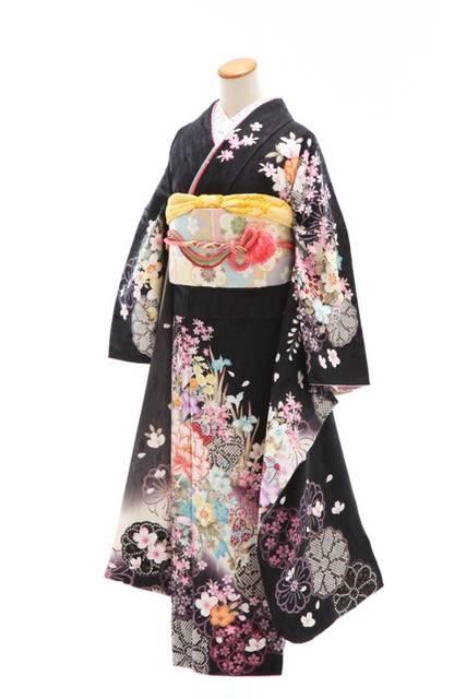 シックな古典でクールビューティー! (No.12453) / 三景スタジオ 本店   My振袖 (26495)