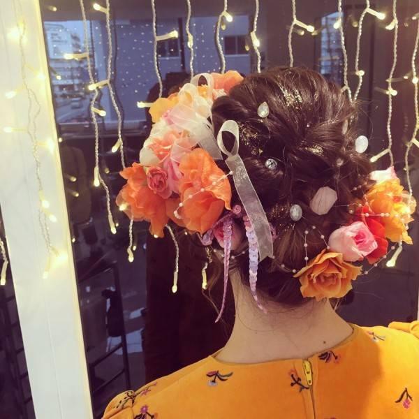 メロディー・チューバック 公式ブログ , 成人式👘手作り髪飾り💐 , Powered