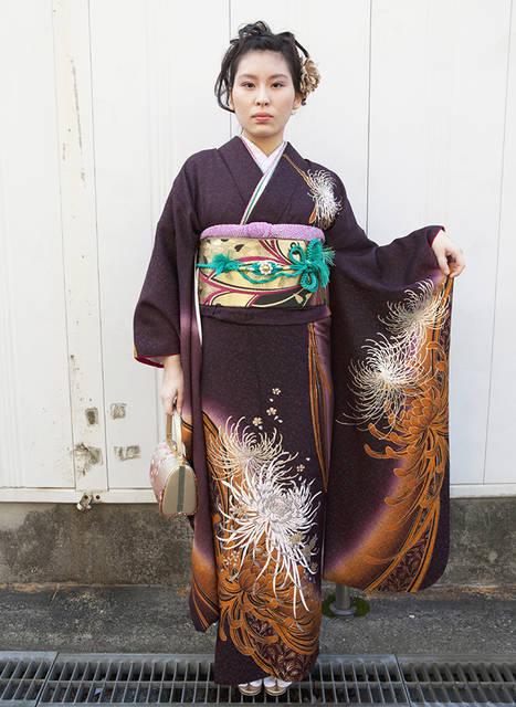 No.193 大阪ガール16   ふりそで美女スタイル〜振袖BeautyStyle〜 (27658)
