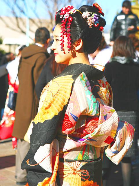 伝統を大切にした日本髪スタイル