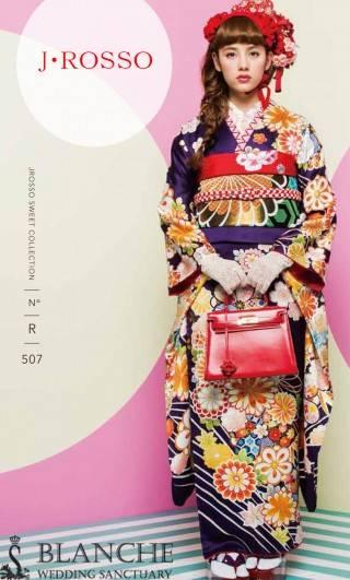J・ROSSO 紫/県内BANCHEのみ取扱い (No.17716) / BLANCHE   青森 ドリームタウンALi店 | My振袖 (28640)