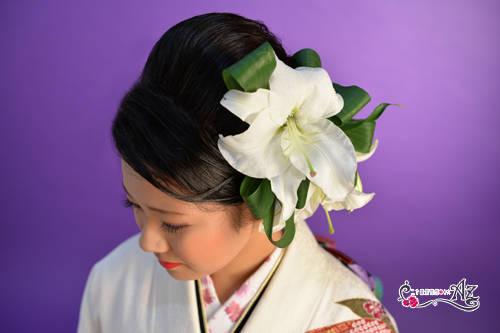 生花の髪飾りをご紹介! | 二十歳振袖Az水戸のブログ (28714)