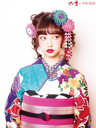 和 (No.12001) / biwa桜 | 近江八幡店 | Princess Furisode | My振袖 (28783)