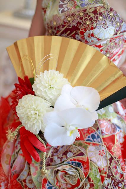 アプローズスクエアTOKYOのプランナーブログ「扇子ブーケ」|ゼクシィで理想の結婚式 (29525)