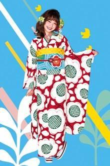 レトロ振袖 (No.9184) / TAKAZEN神戸店PrincessFurisode | My振袖 (30265)