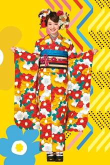 レトロ振袖 (No.1708) / TAKAZEN心斎橋店PrincessFurisode | My振袖 (31077)