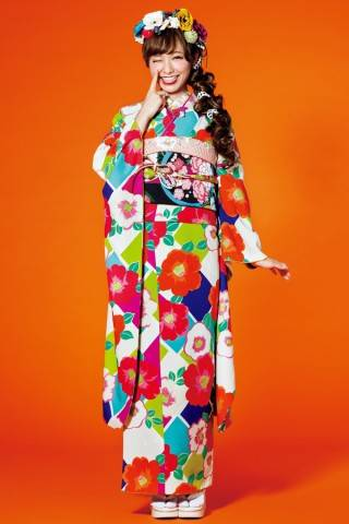 レトロ振袖 (No.9180) / TAKAZEN神戸店PrincessFurisode   My振袖 (31293)
