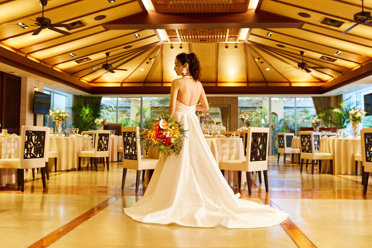 南青山のバンケット「Bali Style(バリ)」での花嫁フォト