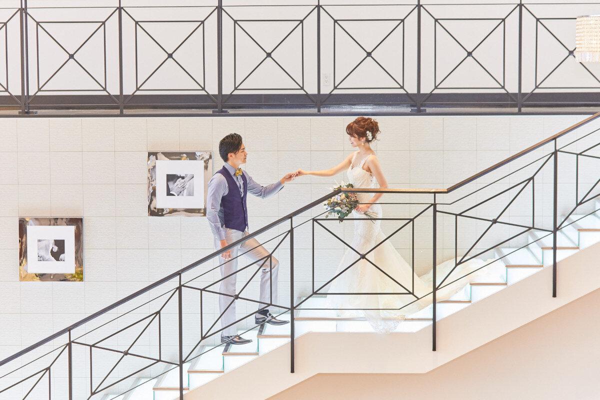 アルカンシエル横浜 luxe mariageのバンケット「New York Escalier(ニューヨーク・エスカリエ)」