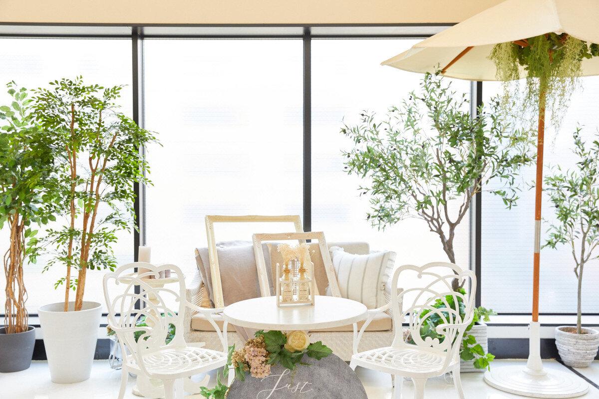 アルカンシエル横浜 luxe mariageのバンケット「Paris Raffine(パリス・ラフィネ)」のウエルカムスペース