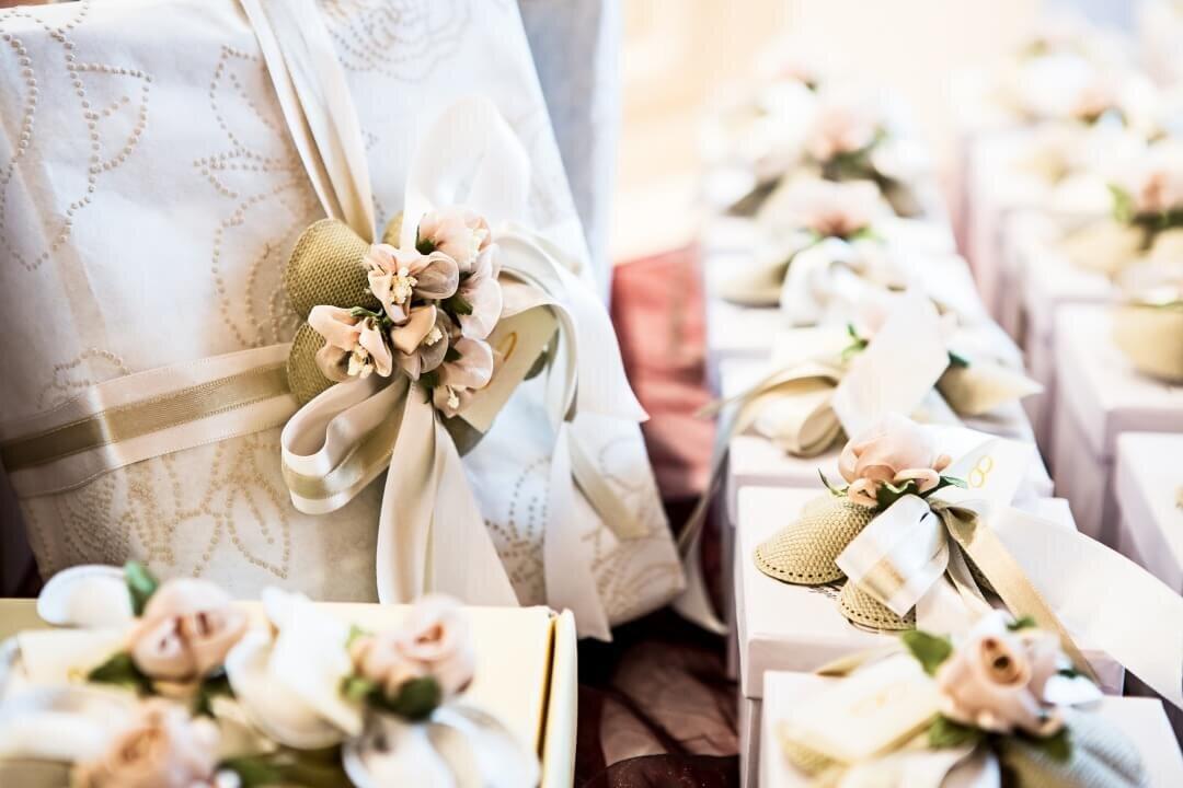 結婚式に贈るたくさんのギフト