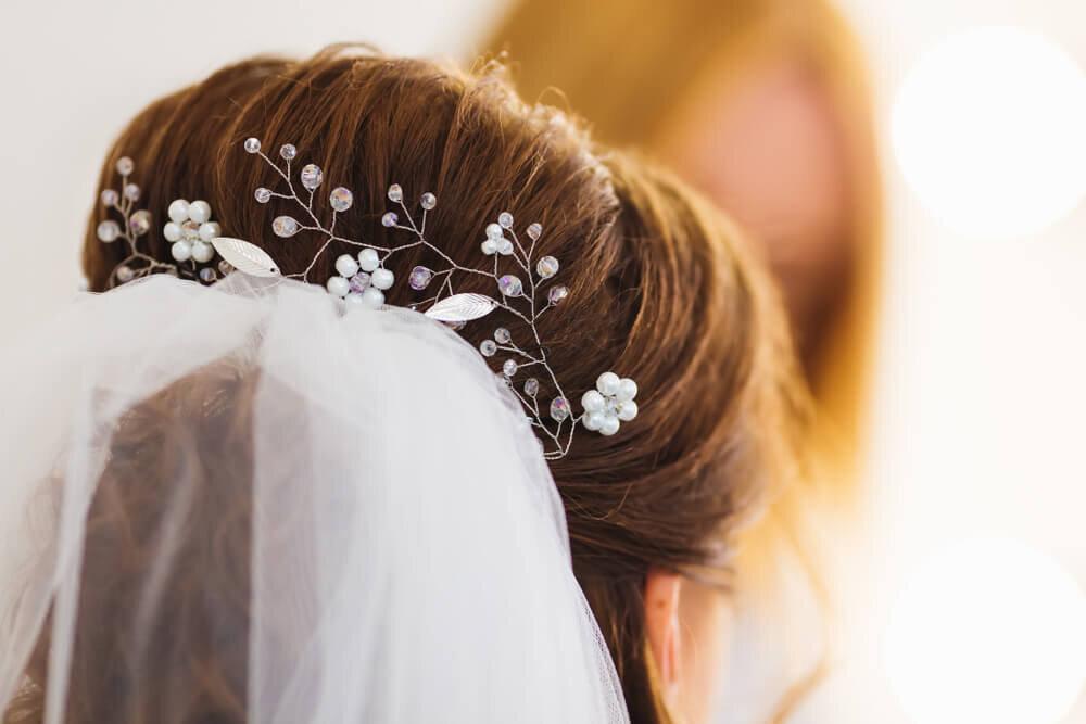 小枝風のヘッドドレス