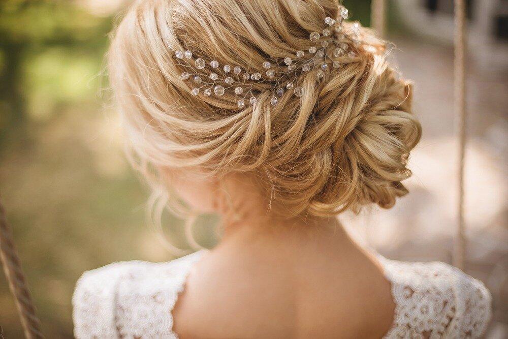 花嫁のヘアアレンジ
