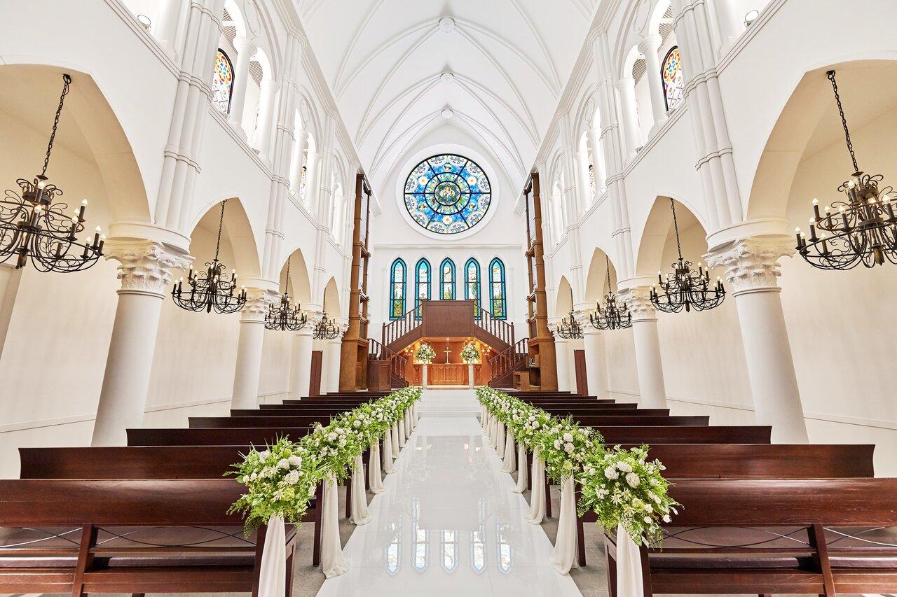 アルカンシエル luxe mariage 大阪の大聖堂