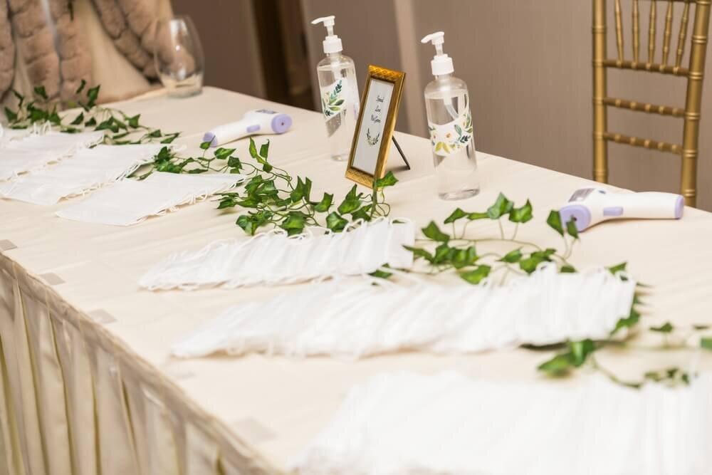 結婚式場の感染対策