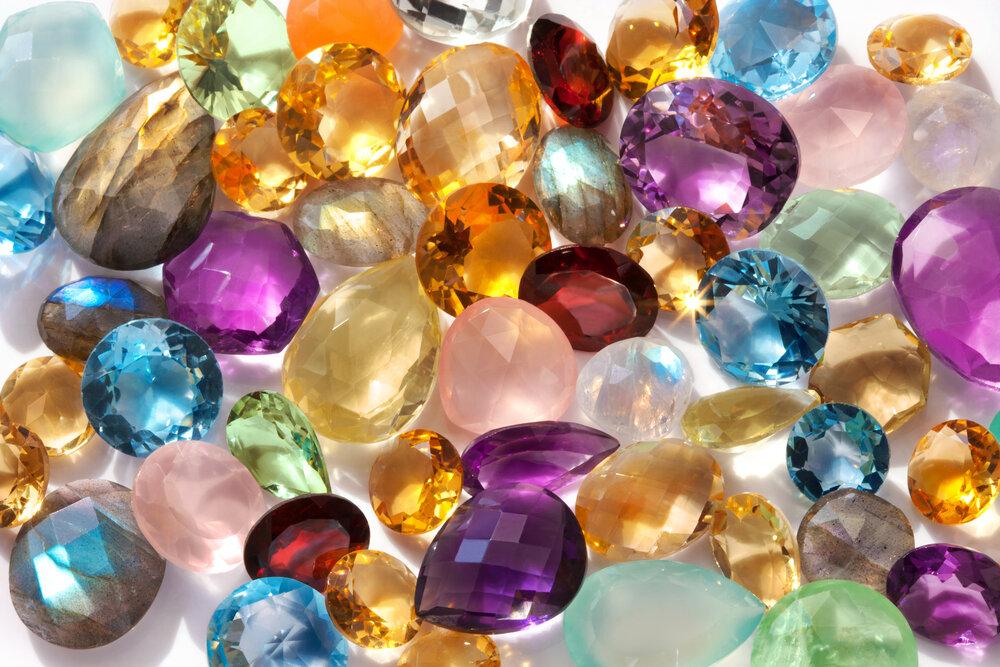 さまざまな宝石