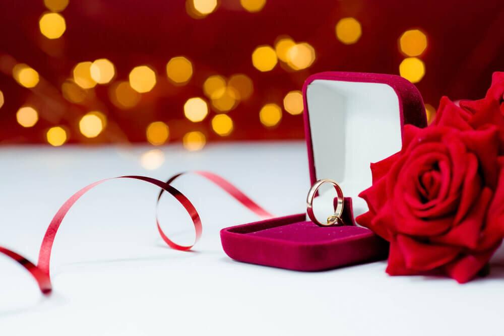 バレンタインプロポーズで贈る指輪