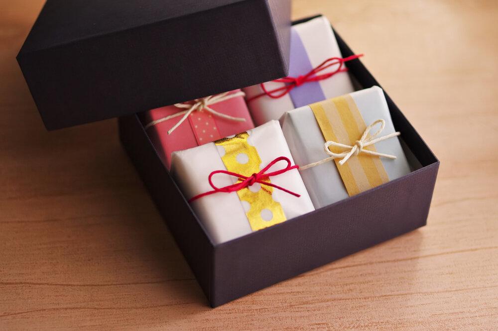 箱詰めの和菓子