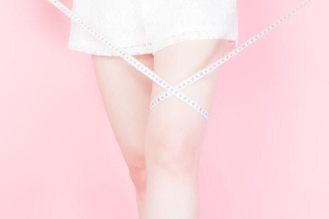 太ももに悩む女性は多数?太いと感じる人は○%いた!