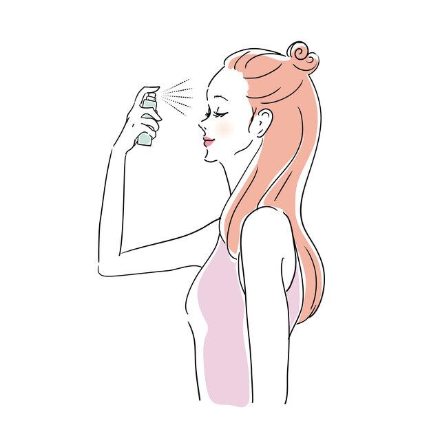 化粧直しミストの使い方とは?正しいケア方法で美肌をキープ!