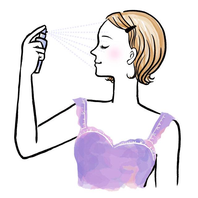 化粧直しミストで保湿力のあるアイテムは?おすすめアイテム7選