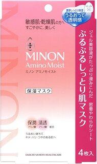 ミノン アミノモイスト ぷるぷるしっとり肌マスク 22...