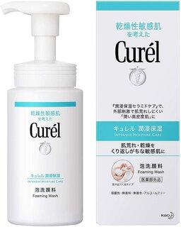 キュレル 泡洗顔料 150mlが洗顔フォームストアでい...