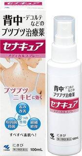 【第2類医薬品】セナキュア 100mLが手指消毒・器具...