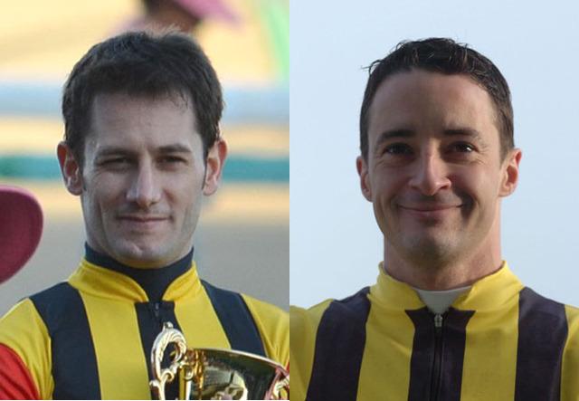 ミルコ・デムーロ騎手とクリストフ・ルメール騎手