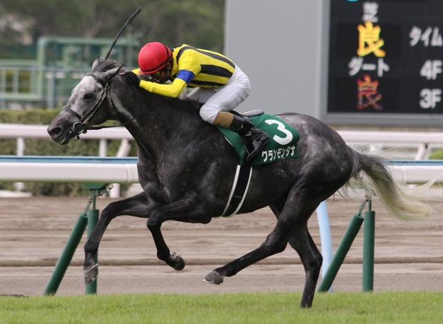 勝ち馬:クランモンタナ(牡7歳)