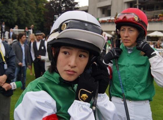 騎乗前に顔が凛々しくなる藤田菜七子騎手