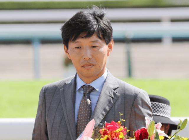 オーナーであるサンデーレーシング代表の吉田俊介氏