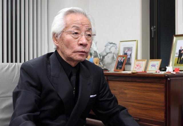 メイショウオーナーの松本好雄氏
