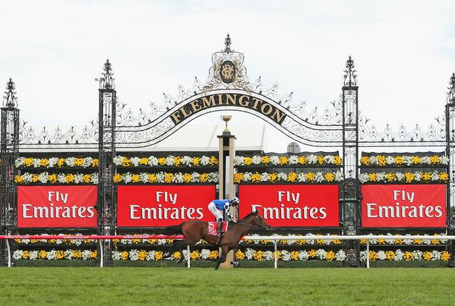 メルボルンCが行われるオーストラリアのフレミントン競馬場