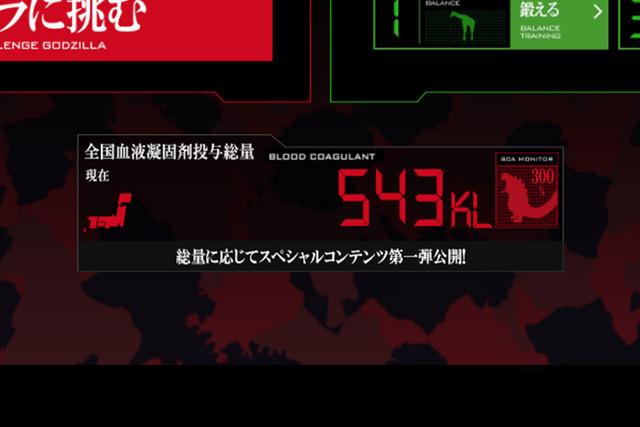 全国のユーザーが投与した血液凝固剤の総量数