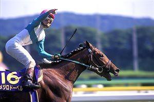 吉田豊騎手とメジロドーベル