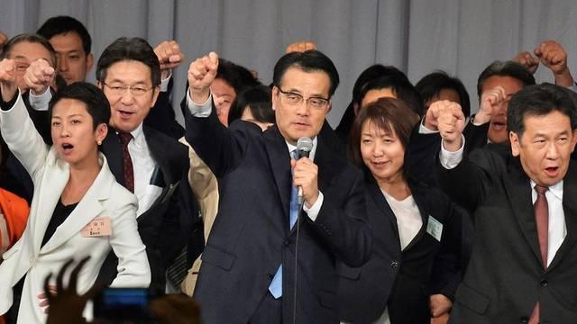 民進党幹部の顔触れ…