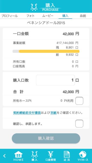 ベネンシアドール2015→42000円